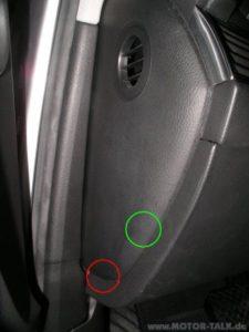 Fahrerfußraumverkleidung