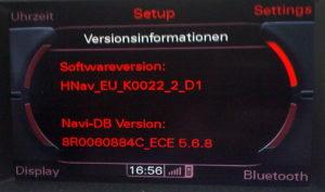 nicht bekannt MMI 3G HDD