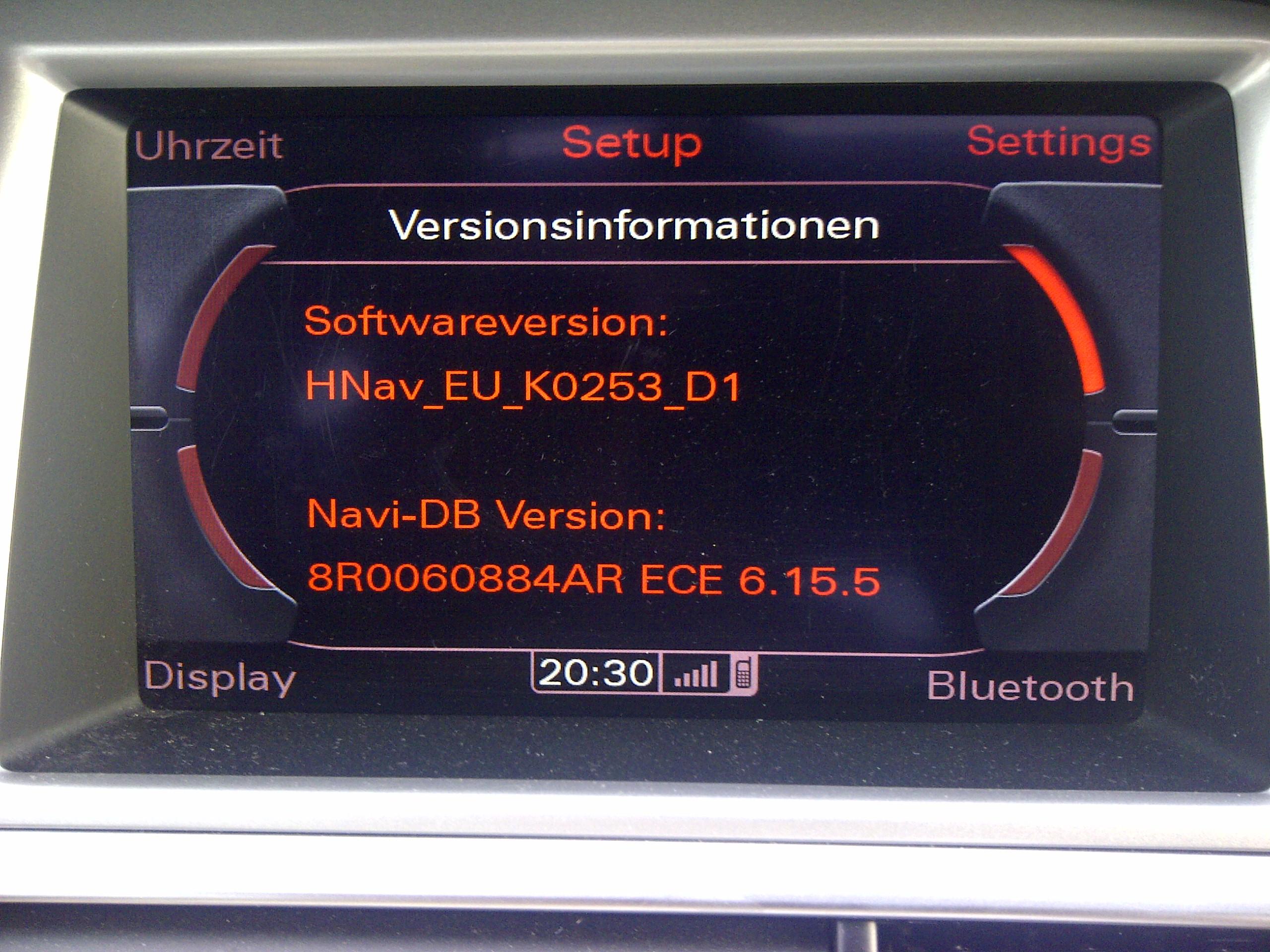 mmi 3g hdd - softwarerevisionen mmi und navi - a6-wiki