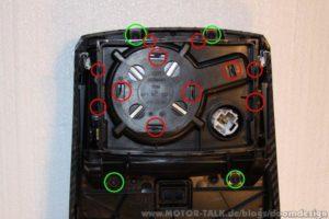 Demontage der Mittelkonsole im Audi A6 4F 3