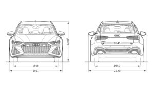 RS 6 Avant 2019 - quattro 8-stufige tiptronic 3