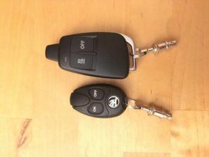 Schlüsselbatterie schwach im Audi - A6 4F C6 1