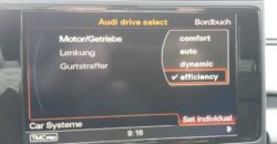 Hinzufügen der Fahroption efficiency in den Individual Fahrmodus im Drive-Select - A6 4G 5