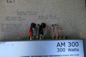 Zusätzliche Endstufe nachrüsten MMI 2G High mit Bose - A6 4F 22