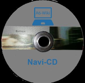 Navi-CD wird nicht ausgeworfen beim Audi - A6 4F 1