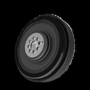 Riemenscheibendaempfer ersetzen Audi - A6 4F 1