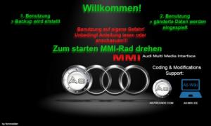 MMI Hack - eigenen Startbildschirm einspielen 2