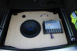 Zusätzliche Endstufe nachrüsten MMI 2G High mit Bose - A6 4F 7
